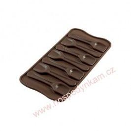 Silikomart Silikonová forma na čokoládu Spoon