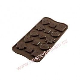 Silikomart Silikonová forma na čokoládu Buttons