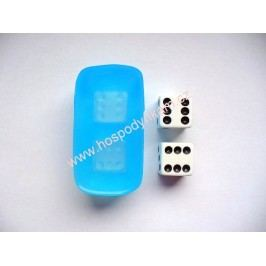 Silikonová forma na marcipán hrací kostky