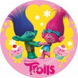 Jedlý papír Trollové (Poppy a Větvík)