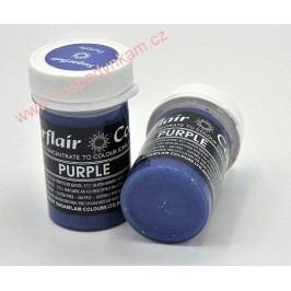 Gelová barva Sugarflair Purple 25g