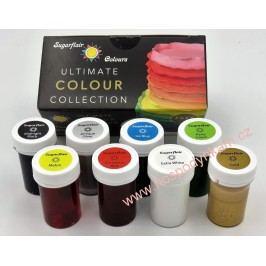 Sada 8 gelových barev Sugarflair