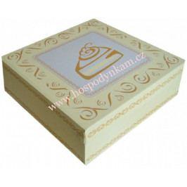 Dortová krabice s potiskem