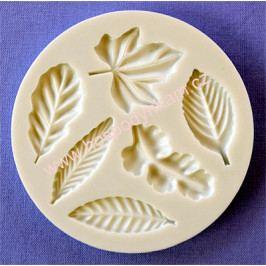 Silikonová forma na marcipán - listy