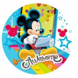Jedlý papír Mickey s mobilem