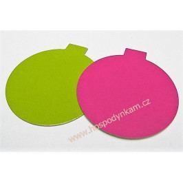 Dortová podložka růžovo-zelená 8cm