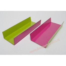 Podložka pod pralinky růžovo-zelená 4,5x13cm