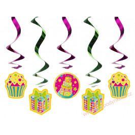 Spirálová dekorace muffiny