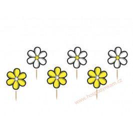Zapichovací dekorace květ