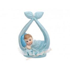 Figurka na dort - chlapeček v uzlíčku