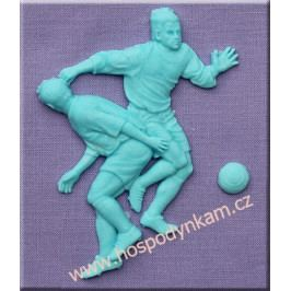 Silikonová forma na marcipán - fotbalisté
