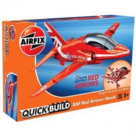 Airfix Quick Bulid J6018 letadlo – Red Arrows Hawk