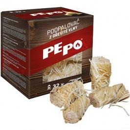 PE-PO podpalovač z dřevité vlny 32 ks  PEFC
