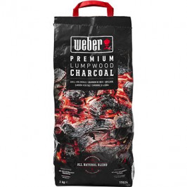 Weber Premium dřevěné uhlí, 3kg