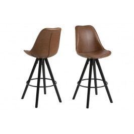 Barová židle Dima Brandy Actona ekokůže
