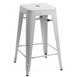 Barová stolička Paris 66cm bílá