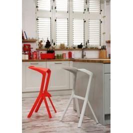 Barová stolička MU červená