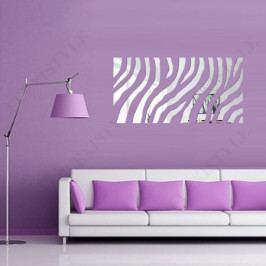 Akrylové dekorační zrcadlo FLEXI Zebra I203