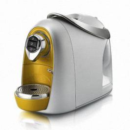 Domácí kapslový kávovar Caffitaly model S04 espresso zlatá-stříbrná Caffitaly system