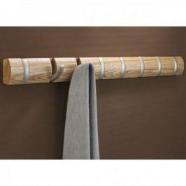 UMBRA FLIP 8 háčků v jednom, dřevo