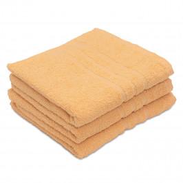 Ručník Comfort žlutý