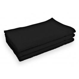 Ručník Classic malý černý 30x50 cm