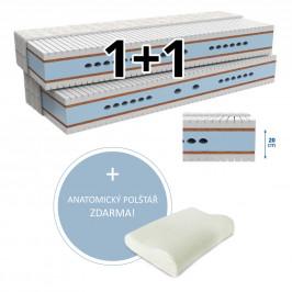 MPO Matrace Matrace 1+1 MAXIMA 2 ks 120 x 200 cm Potah matrace: Medico - standardní