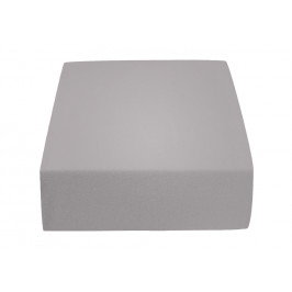Jersey prostěradlo světle šedé 200 x 220 cm