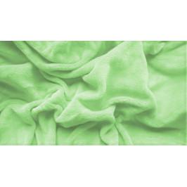 Prostěradlo mikroplyš 90x200 cm zelené