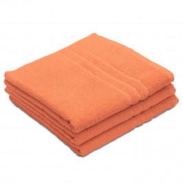 Osuška Comfort Maxi 100x180 cm oranžová