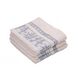 Bambusový ručník BAMBOO krémový