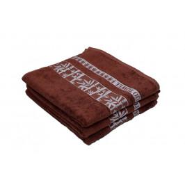 Bambusový ručník BAMBOO hnědý