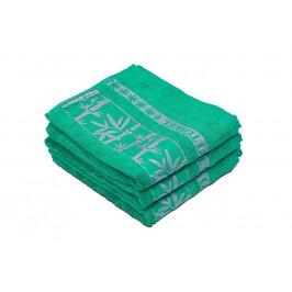 Bambusový ručník BAMBOO zelený