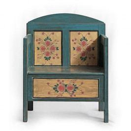 Replika starožitné lavice Babiččin trůn…