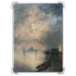Obraz Benátská laguna v noci - Originální autorská malba