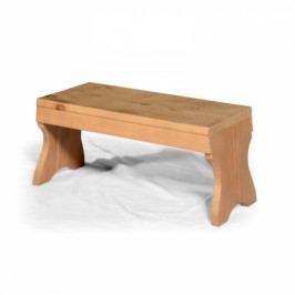 Malá dřevěná stolička.