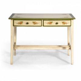 Malovaný originální stůl.