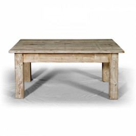 Nízký stolek vrásněný.