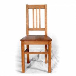 Replika židle z masivního smrku.