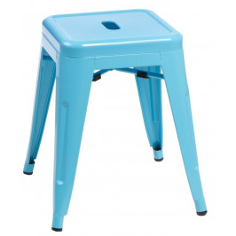 Culty Modrá celokovová stolička Tolix 46
