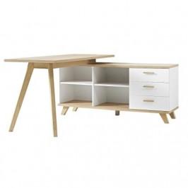 Kancelářský stůl Germania GW-Oslo, bílá