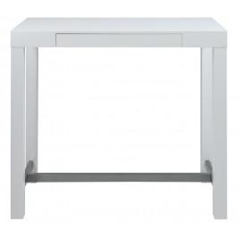 SCANDI Bílý barový stůl Helena 120 cm