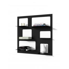 Culty Designová knihovna Marina 3, černá