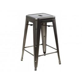 Culty Metalická barová židle Tolix 75