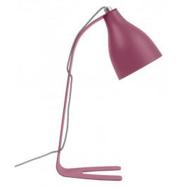 Time for home Růžová stolní lampa Focce