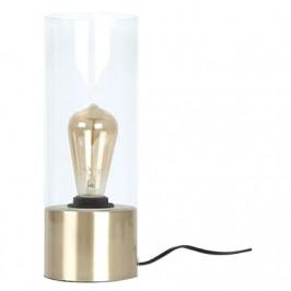 Time for home Transparentní skleněná stolní lampa Laky