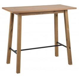 SCANDI Přírodní dubový barový stůl Rachel 117 cm