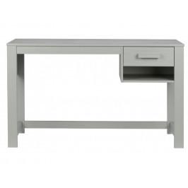 Hoorns Světle šedý pracovní stůl Koben 125 cm