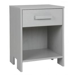 Hoorns Světle šedý noční stolek Koben