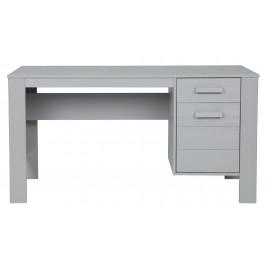 Hoorns Světle šedý pracovní stůl Koben 141 cm